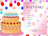 Birthday Invitation Templates Free Download Birthday Invitation Templates