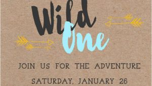 Birthday Invitation Templates Wild One 38 First Birthday Invitation Templates Word Psd