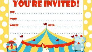 Birthday Invitation Video Template Printable Birthday Party Invitations Bagvania