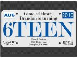 Birthday Invitations for 16 Year Old Boy 17 Images About Driver S License 16th Party On Pinterest