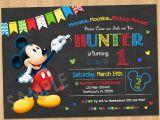 Birthday Invitations Free Printable Mickey Mouse Mickey Mouse Birthday Invitation Mickey Mouse Clubhouse