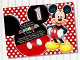 Birthday Invitations Free Printable Mickey Mouse Mickey Mouse Party Invitations Template