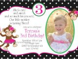 Birthday Invite Wording 3 Year Old Birthday Invitation Cards 3 Year Old Purplemoon Co