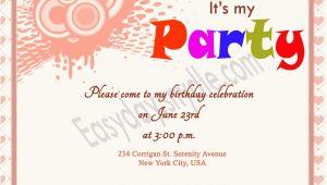 Birthday Invite Wording First Birthday Invitation Wording and 1st Birthday