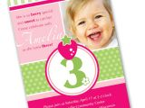 Birthday Invite Wording for 1 Year Old 3 Year Old Birthday Party Invitation Wording