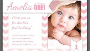 Birthday Invite Wording for 1 Year Old Free E Year Old Birthday Invitations Template