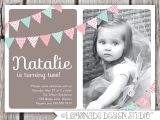Birthday Invite Wording for 7 Year Old 2 Years Old Birthday Invitations Wording Drevio