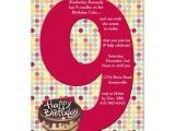 Birthday Invite Wording for 9 Year Old 9 Years Old Birthday Invitations Wording Free Invitation