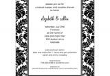 Birthday Party Invitation Template Black and White Black and White Party Invitations New Selections Spring