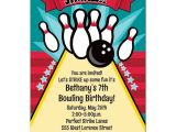 Birthday Party Invitation Template Bowling Free Printable Bowling Birthday Invitations Free