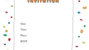 Birthday Party Invitation Template Download 40 Free Birthday Party Invitation Templates ᐅ Template Lab