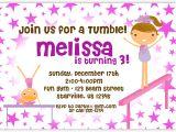 Birthday Party Invitation Template Gymnastics Gymnastic Birthday Invitations Bagvania Free Printable