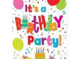 Birthday Party Invitations at Walmart Birthday Jamboree Invitations 8pk Walmart