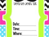 Birthday Party Invitations for 12 Year Olds Birthday Invitation for 12 Year Old Girls