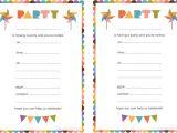 Birthday Party Invitations Free Templates Free Printable Birthday Invitations for Kids Free