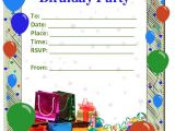 Birthday Party Invitations Template 50 Free Birthday Invitation Templates – You Will Love