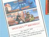 Birthday Party Invite Wording Drop Off Great 7 Year Old Birthday Party Idea Go Out to the Movies