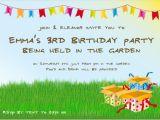 Birthday Party Text Invite Invitation C L A U D I A Y U N I E Primbon