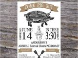 Birthday Pig Roast Invitations 25 Best Ideas About Pig Roast Party On Pinterest Pig