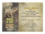 Birthday Pig Roast Invitations Pig Roast Old Vintage Party Invitations Zazzle