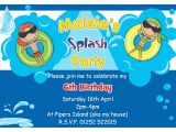 Birthday Pool Party Invitation Ideas Birthday Pool Party Invitations
