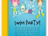 Birthday Pool Party Invitation Wording 40 Best Pool Party Images On Pinterest