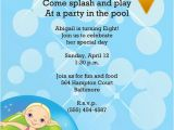 Birthday Pool Party Invitation Wording Pool Party Invitation Wording – Gangcraft