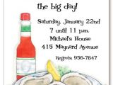Birthday Roast Invitation Wording Oysters Party Invite Oyster Roast Pinterest Oysters