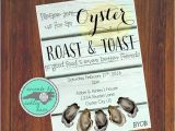 Birthday Roast Invitations Oyster Roast Invitation Oyster Roast Birthday Oyster Roast