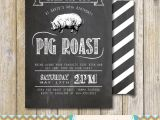 Birthday Roast Invitations Pig Roast Party Invitation Birthday House Warming Couples
