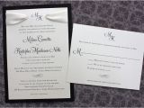 Black and Cream Wedding Invitations Classic Archives Page 3 Of 11 Emdotzee Designs