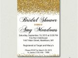 Black and Gold Bridal Shower Invitations Gold Bridal Shower Invitation Black and Gold Glitter Bridal