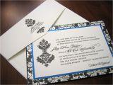 Black and Royal Blue Wedding Invitations Royal Blue Wedding Invitation A Vibrant Wedding