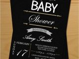 Black and White Baby Shower Invites 6 Best Of Black and White Printable Baby Cards