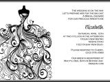 Black and White Bridal Shower Invitation Templates 6 Best Of Black and White Printable Invitations