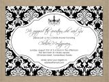 Black and White Bridal Shower Invitation Templates 8 Best Of Black and White Birthday Invitation