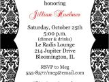 Black and White Bridal Shower Invitation Templates Black and White Bridal Shower Invitations Template