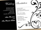 Black and White Bridal Shower Invitation Templates Cindy S Blog Black and White Wedding Invitations Templates