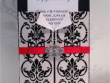 Black and White Lace Wedding Invitations Black and White Lace Wedding Invitations Various