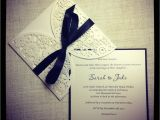Black and White Lace Wedding Invitations Black and White Wedding Invitations with Lace Images Gray
