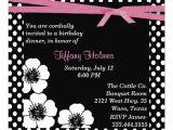 Black and White Polka Dot Birthday Invitations Black White Polka Dot Birthday Invitation 5 25 Quot Square