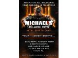 Black Ops Party Invitations Call Of Duty Black Ops 3 Personalized Birthday Invitations