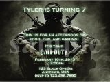 Black Ops Party Invitations Call Of Duty Ghosts Birthday Invitations Party