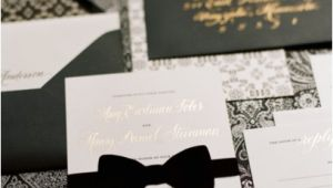 Black Tie On Wedding Invitation Wedding Inspiration Black Tie Affair Pretty Happy Love