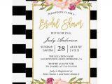 Black White and Gold Bridal Shower Invitations 24 Inspiring Black and White Bridal Shower Invitations
