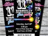 Blackout Birthday Party Invitations Best 25 Neon Party Invitations Ideas On Pinterest