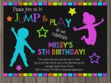 Blackout Birthday Party Invitations Great How to Make Glow In the Dark Party Invitations