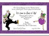 Blackout Birthday Party Invitations Invitation Wording for Dance Party Choice Image