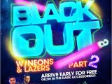 Blackout Birthday Party Invitations Known for Its Popular Blow Out Bashes Star Plaza