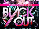 Blackout Party Invitations Ra Blackout Party with La Mega 97 9 & Power 105 1 at Play